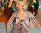 Primitive Sammy Rabbit  Handmade  HAFAIR