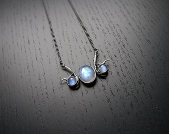 DISCONTINUED Andromeda Necklace - Moonstone
