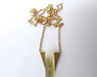 Crystal Flag Necklace