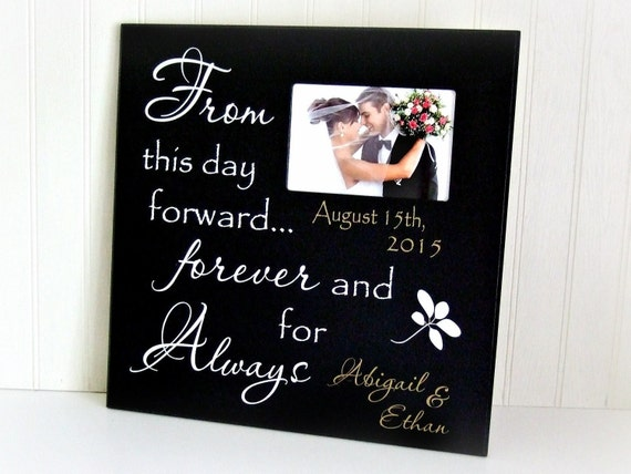 ... Bride and Groom/Personalized Photo Frames/Custom Wedding Gifts/Wedding