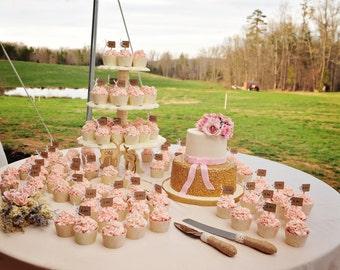 4 tier cupcake tower