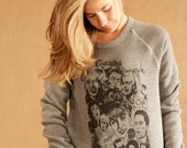 TWIN PEAKS super soft 90s revival DAVID lynch sweatshirt