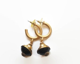 Vintage Designer Jan Michaels Earrings