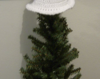 Crocheted Angel Tree Topper