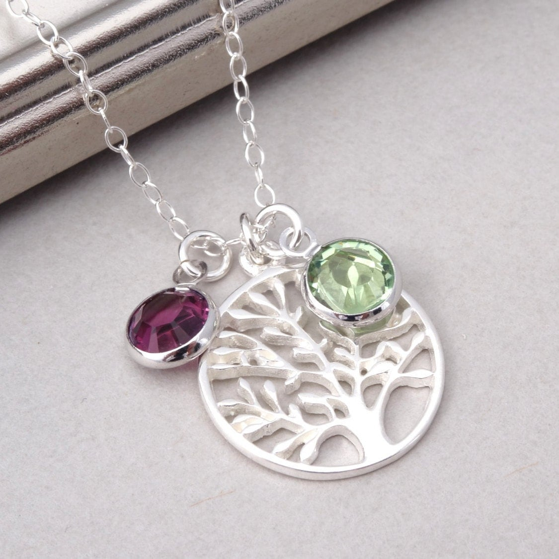 birthstone jewelry for mothers necklace birthstone necklace family necklace 2369