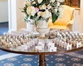 Wedding Escort Card Holders - 100 animal magnets - custom set