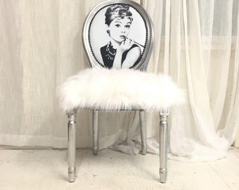 Items Similar To French Louis Xvi Bergere Upholstered Ikat
