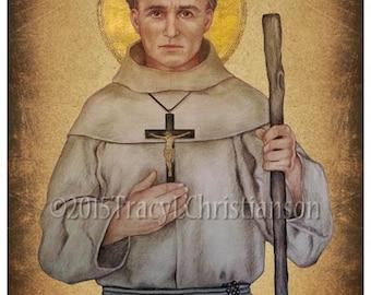 St. Junipero Serra Print, Catholic Art Patronage: Vocations, California #4209