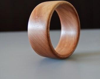Eucalyptus Wood Bangle Bracelet | Boho, Ecofriendly Jewelry
