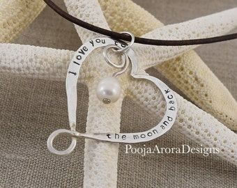 xmas jewelry wife, winter gift for wife, xmas wife, I love you to the moon and back necklace, christmas gift for wife ideas, wife gift