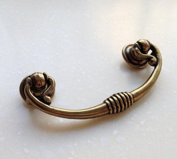 Country Kitchen Cabinet Hardware: French Country Kitchen Cabinet Pull Handle Antique