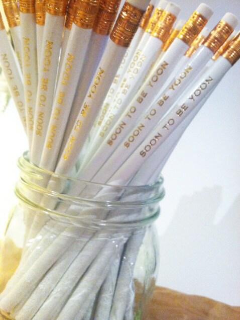 Custom Pencils Personalized Pencil Graduation Gift Wedding