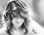 Gothic Mask Masquerade Masks Lace Mask Mardi Gras Mask Ball Mask Phantom of the Opera Masks