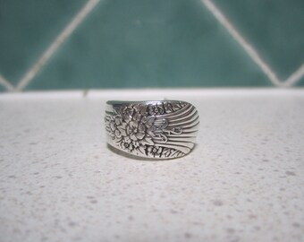 Vintage Spoon Ring Size 7