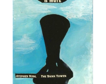 Stephen King inspired Art Print- The Dark Tower VII,  The Dark Tower