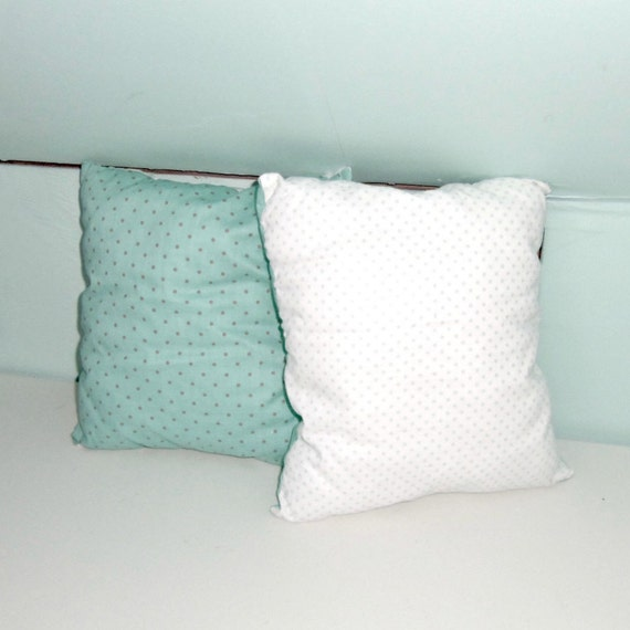 Small Square Decorative Pillows : Small Throw Pillow Baby Pillow Cotton Square by PillowsForNow
