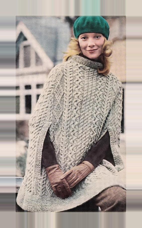 Instant PDF Download Knitting Pattern to make a Ladies Superb