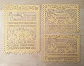 Laser cut Invitation - (20 invitations, 20 envelopes) Love Bird Papel Picado Inspired Wedding 5x7 card Rehearsal Engagement Bridal Shower]