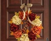 Fall Wreath | Fall Decor | Wreath | Front Door Wreaths | Outdoor Wreath | Fall Wreath for Front Door | Thanksgiving Wreath | Autumn Wreath