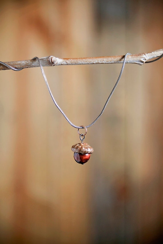Acorn Necklace from Nuttier Than A Squirrel