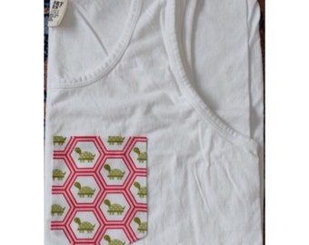 Turtle Fabric Pocket T-Shirt or Tank Top