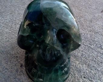 Flourite Skull2