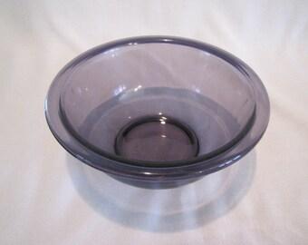 Vintage Purple Pyrex Bowl 322