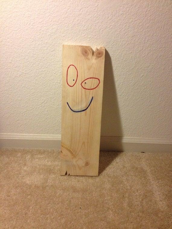 Items similar to Plank from Ed Edd N Eddy Wooden Replica ...