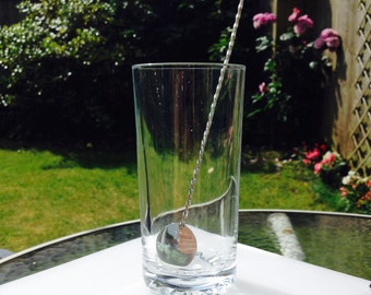 Drinks mixer in sterling silver. Perfct for muddleing your Pimms or Gin and Tonic.