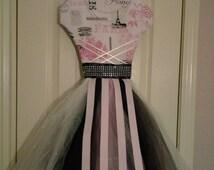Beautiful Paris theme  bow holder