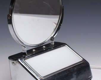 1950's lighted cosmetic mirror