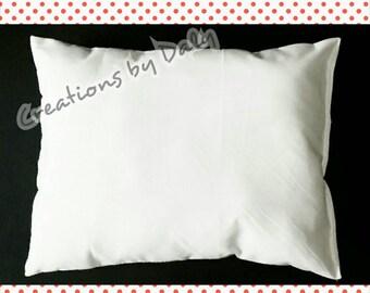 The BEST Toddler Pillow Insert, 10 x 13, ~ 12 x 18, ~ 12 x 16, Toddler Pillow, Toddler Pillow Inserts, IDEAL for my toddler pillow cases.