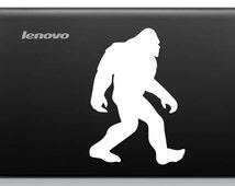 Bigfoot Sasquatch Car Window Vinyl Decal Tablet PC Sticker
