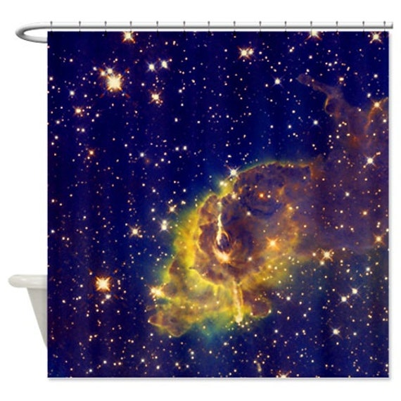 items similar to outer space shower curtain astronomy