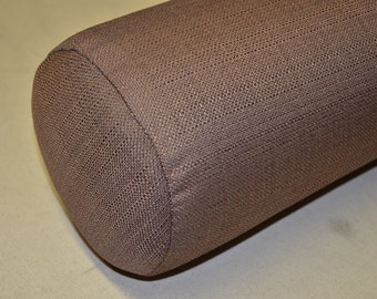 """8x30 Round Bolster Pillow Cover and Insert  8"""" Round X 30"""" long."""