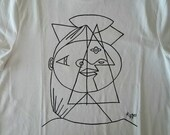 Picasso Cubic Sketch t Shirt
