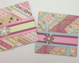 Handmade - Oragami Folded Greeting Cards