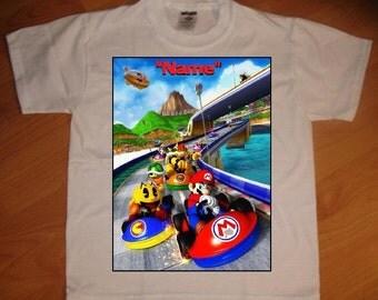 Mario Kart Personalized T-Shirt