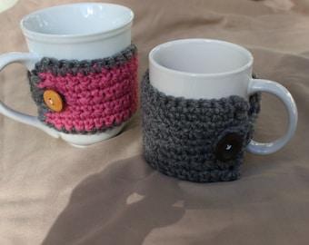 Coffee cup cozy, Tea cup cozy