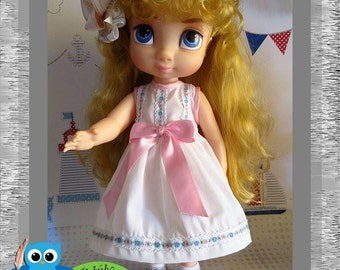 Dress with straps and Satin Doll Disney Animators for loop