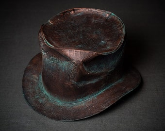 Steampunk Top Hat Steam-Punk Top-Hat Tophat Men Women Hat Mens Hat Womens Hat Mad Hatter Hat Alice in Wonderland Hat Steam Punk