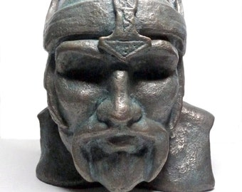 THOR - BRONZE Viking God of Thunder. Cold Cast Bronze casting. Limited Edition #6 of 6