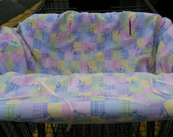 Shopping Cart Cover/ High Chair Cover  (one of a kind)