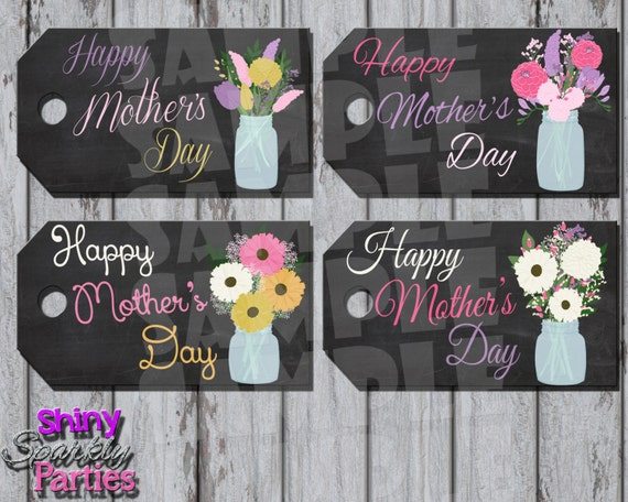 Mother S Day Tags: Printable MOTHER'S DAY Gift TAGS Mothers Day Tags