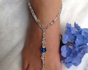 Wedding/Barefoot Sandals -Foot Jewelry   Style: Twilight