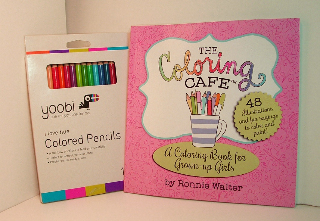 The Coloring CafeTM Book For Grown Up Girls Adult