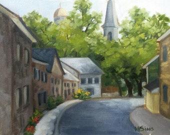 Old Ellicott City - Street landscape - Cityscape - Open edition print