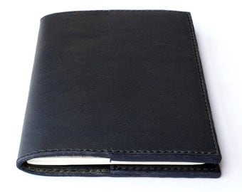 Journal, Leather Journal, Horween Leather Journal, Moleskine Leather Journal, Refillable Journal, Moleskine Cover