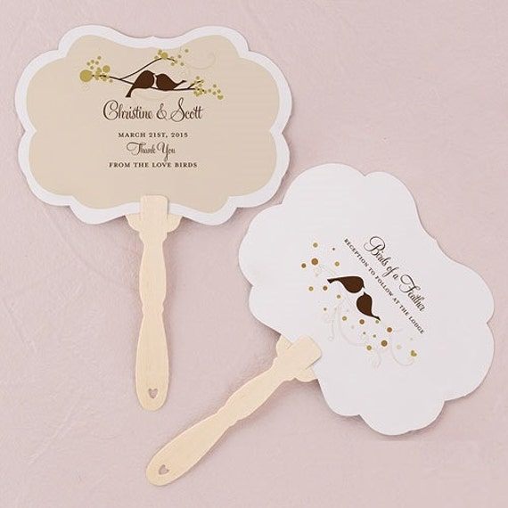 Personalized Wedding Favor Hand Fan Wedding Favor Bridal
