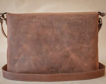 Handmade Premium Leather Bag Messenger Genuine Leather